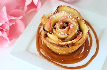 Caramelized Cream Rose