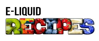 E-liquid recipes