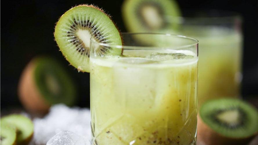 Bourbonized Kiwi